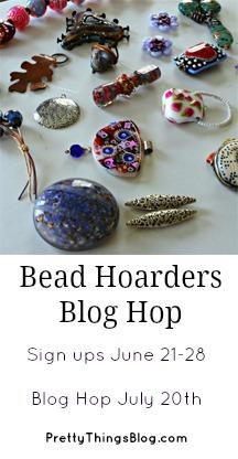 T. Bead Hoarders Blog Hop